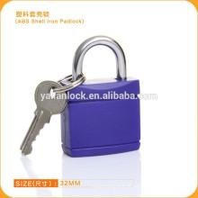 2015 Yalian moda estilo ABS shell roxo ferro cadeado 0225