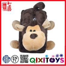 Macaco De Pelúcia Animal Tampa Da Caixa De Tecido Dos Desenhos Animados Home Decor Baby Doll Stuffed Toy