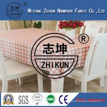 Tissu non tissé utilisé pour le tissu de table