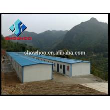 China move-in cadre en acier fort maison préfabriquée à bon marché