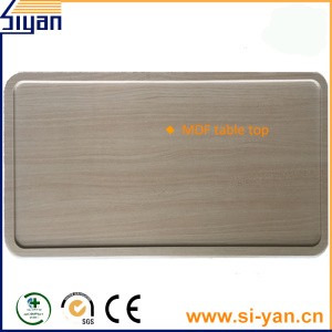 Pvc film vacuum pressure table top wood