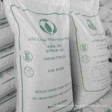 Fertilizantes agrícolas Superfosfato simple granular (GSSP)