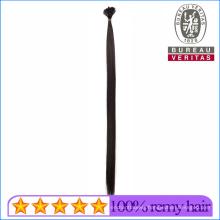 Prebonded Black Color Straight 18inch Little Flat Tip Virgin Hair 100% Human Hair Extension Remy Hair