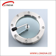 Sanitary Stainless Steel Flange Sight Glass with Scraping Device