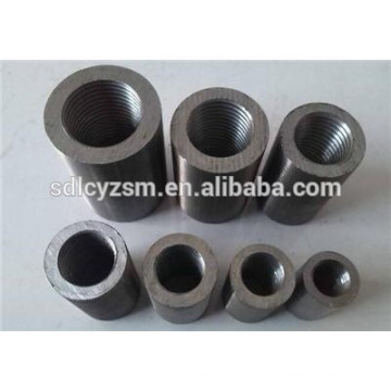 Steel bar / rebar / carbon steel connecting sleeve, straight screw sleeve coupler connection with competitive price