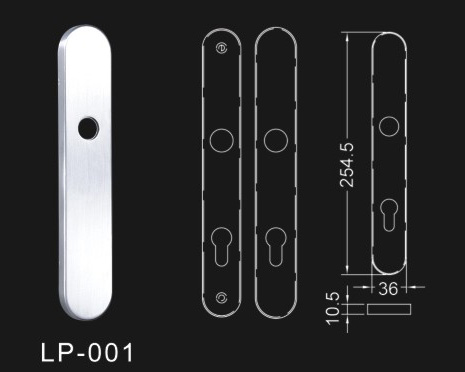 Firm Stainless Steel Door Handle Size