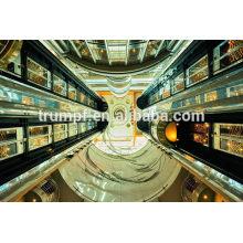 630kg ~ 1350kg, 1.0m / s ~ 1.75m / s Glas / Beobachtung / panoramischer Aufzug