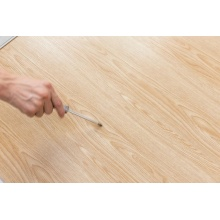 Fire proof durable wood color spc flooring