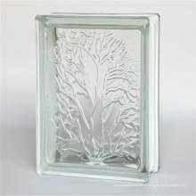 низкая цена дома пустотелый 190*190*80мм прозрачное стекло блоки