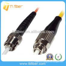FC-ST Connecteur de cordon de fibre optique