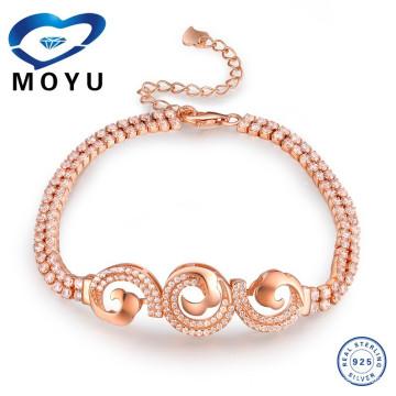 2015 bracelets bracelets bracelets plaqués or dubai avec prix de gros