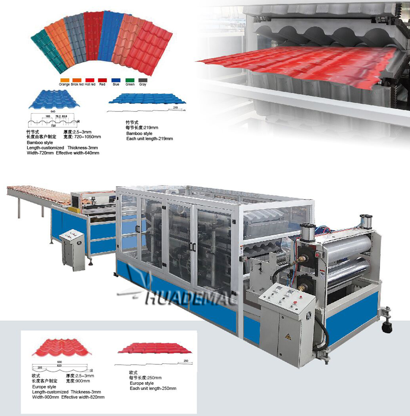 Glazed Tile Forming Machine 8