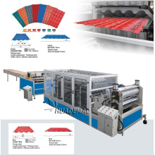 PVC ASA Glazed Tile Production Line