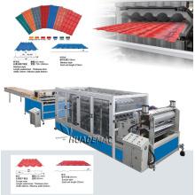 Linha de produção de telha envidraçada PVC ASA