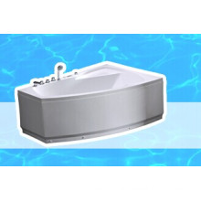 Hydro Massage Acrylic Triangle Corner Bathtub