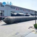 12 couches transportant le levage et flottant des airbags de rouleau en caoutchouc pour la barge