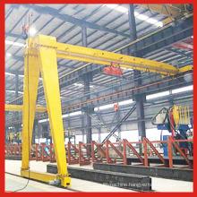Safe and Reliable Single Girder Gantry Crane with Semi Beam