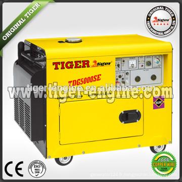 5.0kw groupe électrogène diesel silencieux
