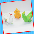 Push Rooster Chook Chicken Toy with Sweet Candy