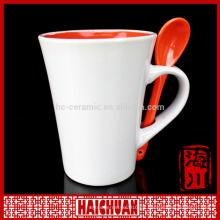 HCC 2014 taza de cerámica de la sopa del esmalte del diseño snoopy