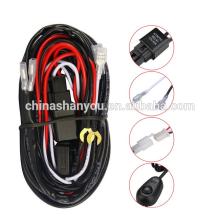 OEM & ODM Rohs compliant conduziu o chicote de fios do fio do cabo claro