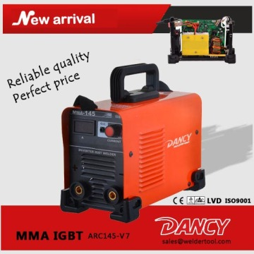 2016 new MMA arc welding machine ARC145-V7