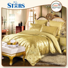 GS-JAC-04 OEKO-TEX standed 100% polyester satin bedding set