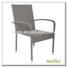 Audu que teje la silla al aire libre de tres colores, silla al aire libre de la rota