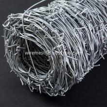 Galvanized Double Strand Barbed Wire Common Twist