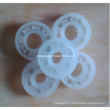 Plus de résistance à la corrosion avec la boule en verre 3/4 '' alésage roulement en plastique R12