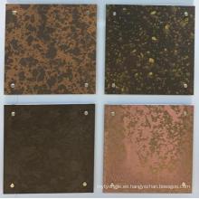 Revestimiento exterior Láminas de aluminio con revestimiento de color RAL