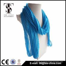 Bufanda tecnológica especial hueco vendedora caliente de la tendencia azul
