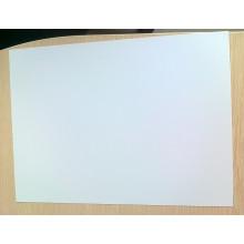 Hoja de PVC mate blanco para material de impresión