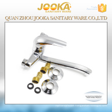 Wall mounted single lever kitchen sink mixer