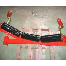 Carry Roller para transportador de carbón, rodillo de retorno del transportador de cinta