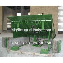 Rampe de déchargement de conteneur de niveleur de dock d'entrepôt hydraulique électrique 6T