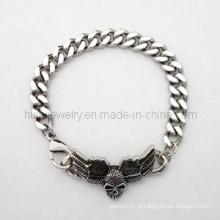 Jóia gótico do bracelete do homem da bicicleta
