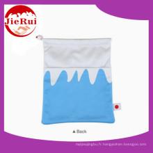 Housse de sac en tissu microfibre design unique