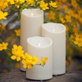 plastic outdoor Luminara Unscented Flameless Candle