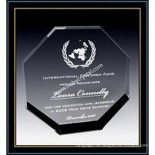 """Crystal Octagon Award Plaketten für Anerkennung 6 """"H (NU-CW691)"""