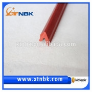 Red silicon rubber strip in other rubber products