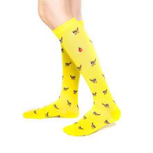 New Color Knee High Long Stocking Custom Nurse Compression Socks