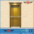 JK-SW9106 Portes en bois inter, portes d'entrée de maison, panneaux de bois étanches en plein air