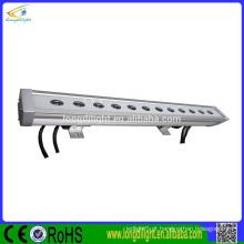 Barra led led impermeável 12pcsx3w rgb 3in1 led bar luz