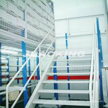 Revestimento de mezanino de armazenamento de piso modular modular multi-nível