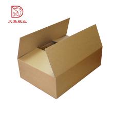 Fabriqué en Chine logo personnalisé ondulé pas cher prix vente haute qualité boîte