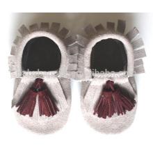 Heiße verkaufenkinder schöne Mokassins schuhe nettes Baby geborene Schuhe