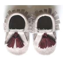 Hot selling kids beautiful moccasins shoes cute baby born shoes