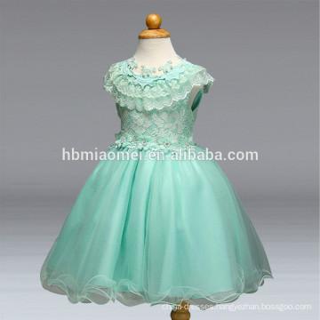 Wedding party flower girl dress lace princess 2 years baby girl wedding dress
