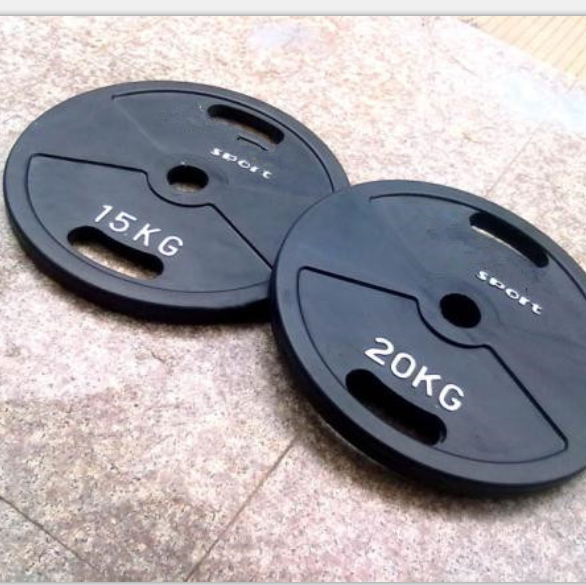 Rubber Barbell Plate4